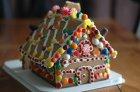 Rezept: Ein Lebkuchenhaus backen