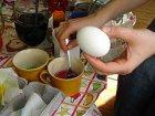 Ostereier färben mit Kindern