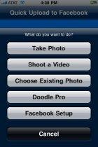 Mit dem iPhone Bilder bei Facebook hochladen - eine Anleitung