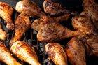 Hähnchenschenkel auf dem Grill zubereiten
