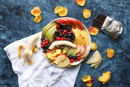 Summerroll with Fruits