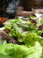 Salat länger frisch halten